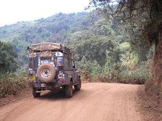 Land Rover Overland in Kenya