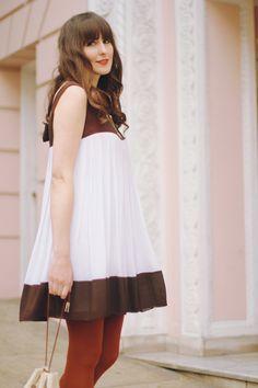 045101ed65e2b tent dress Orange Tights, Red Tights, Prairie Skirt, Tent Dress, Dress Skirt