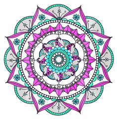 ElementEdenArtSearch  'Pink Mandala'