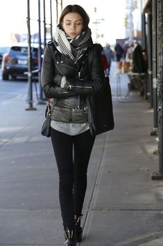 On the street in New York. [Photo by John Aquino]