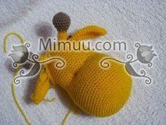 Amigurumi Zürafa Yapımı : Amigurumi zürafa modeli amigurumi yapılışı amigurumi