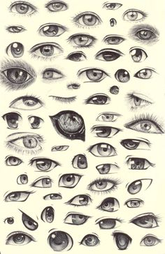 Image result for drawing eyes