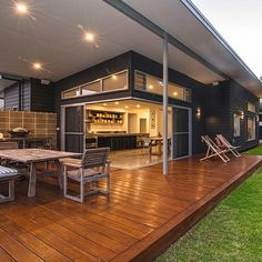 Davis house #home #decking #outdoorliving