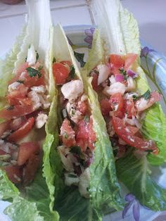Hcg Diet Journey: Phase 2 Recipe - Ceviche