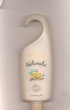 3 Avon  Naturals Vanilla shower gel- 10 fl. oz.-NOS