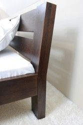 Łóżko drewniane, gięte Milano - zagłówek / MEBLE MIGDAŁ™ / http://www.meblemigdal.pl/lozka-drewniane-140x200