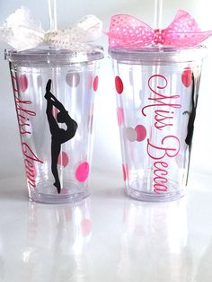 Dance Teacher Personalized Tumbler for Team by KatiePieDesigns