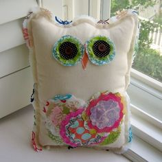 love this owl for her room however, would like this owl for her bed about 14-16 inches tall would be great