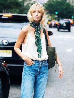 16 Formas De Usar Tu Pañuelo De Seda, Según Las Chicas Fashion | Cut & Paste – Blog de Moda