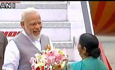 PM Narendra Modi arrives in New Delhi after three-nation tour
