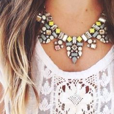 Crystal Decadence Statement Necklace New never worn crystal decadence necklace ✨ GoldBar Jewelry Necklaces