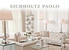 GLAMBARBIE Eichholtz Bank Sofa Paolo Naturel