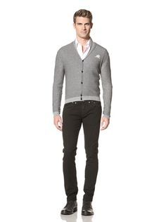 70% OFF Ermanno Scervino Men\'s Cardigan (Grey)