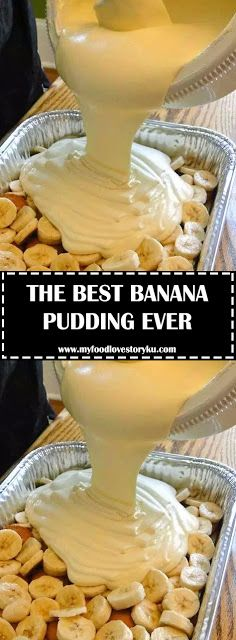 This recipe makes the best banana pudding I have ever tasted. And I'll bet it's the best banana pudding you've ever tasted, too. Best Banana Pudding, Banana Pudding Recipes, Banana Pudding Recipe With Cream Cheese, Banana Pudding Condensed Milk, Vanilla Wafer Banana Pudding, Banana Pudding Cupcakes, Banana Pudding Cheesecake, Just Desserts, Delicious Desserts