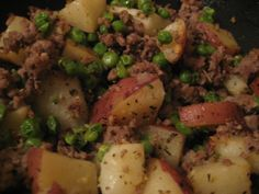 Easy Hamburger Potato Skillet Of Yumminess Recipe - Food.com