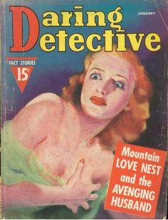 Daring Detective - January, 1938