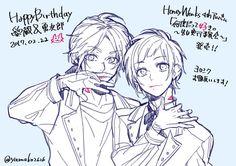 Media Tweets by ヤマコ(HoneyWorks) (@yamako2626)   Twitter Honey Works, It Works, Persona 5 Joker, The Ancient Magus, Tales Of Zestiria, Anatomy Poses, Boy Poses, Ichimatsu, New Memes
