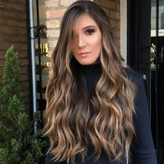 Beste lange Zeit Frisuren mit Balayage color - Discover and save creative ideas, including nails, hairstyles and the latest fashion trends. Easy Hairstyles For Long Hair, Casual Hairstyles, Long Hair Cuts, Pretty Hairstyles, Black Hairstyles, Goth Hairstyles, Elegant Hairstyles, Hairstyles 2016, Trendy Haircuts