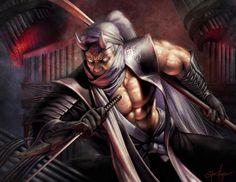 """""""Daigotsu Kanpeki, Spider Clan Champion,"""" by Steve Argyle"""