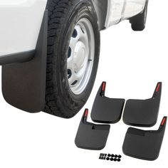 Ford F  Mud Flaps   Mud Guards Splash Molded  Piece Front