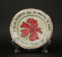 Wedding Plate. awesome wedding gift for Jewish couple!!