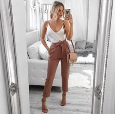 Awaytr Spring/Autumn Long Section Of Large Size Loose Blouse Round Neck Batwing Sleeve Thin Solid Th Cute Work Outfits, Boujee Outfits, Cute Casual Outfits, Spring Outfits, Fashion Outfits, Classy Outfits For Teens, Summer Work Outfits, Fashion Ideas, Winter Outfits