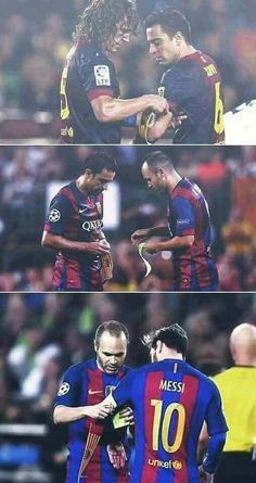 FC BARCELONA LEGACY Carles Puyol Xavi Hernández Andrés Iniesta Lionel Messi I love you so so sooo much! You are one of the Best Players Eber! Thank you so nach! You are always in my hart ❤ Club Football, Football Is Life, World Football, Best Football Team, Barcelona Team, Barcelona Football, Barcelona Futbol Club, Xavi Barcelona, Messi Soccer