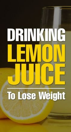 Does Drinking Lemon Juice Help You Lose Weight