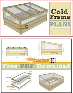 26 Trendy Garden Boxes From Pallets Cold Frame - 26 Trendy Garden Boxes From Pallets Cold Frame - Mini Greenhouse, Greenhouse Plans, Greenhouse Gardening, Pergola Plans, Diy Pergola, Container Gardening, Pergola Kits, Modern Pergola, Pergola Ideas