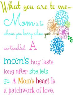#Free #Printable for that special Mom.  And a $300.00 Visa card.