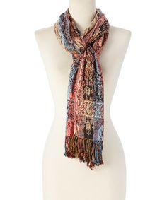 Loving this Silk-Blend Scarf on #zulily! #zulilyfinds