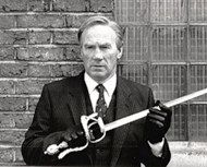 Peter Diamond, the man behind the sword fights and other stunts in Star Wars, Zorro, The Princess Bride, Highlander...