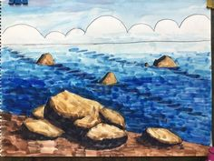 <3월달 초등 수채화반 미술수업 모습>안녕하세요 한여울미술학원입니다. 새학기가 시작된 3월, 실력... Art School, Watercolor, Drawings, Blog, Kids, Painting, Outdoor, Pen And Wash, Young Children