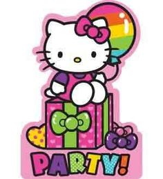 Hello Kitty Rainbow Invitation 4 Retail Units Pack  491417 * Click image to review more details.Note:It is affiliate link to Amazon.