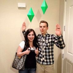 Entertain everyone at your Halloween party with Sims costumes.