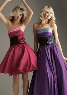 can do any color combo cute Charming Color Such As Pictures Taffeta Strapless A-Line Floor Length Evening Dresses With Appliques Embellishment Closure CP01966