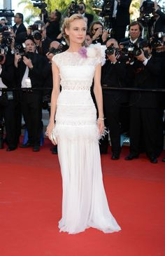 """Diane Kruger in Nina Ricci for the premiere of """"Killing Them Softly"""" (2012 Cannes International Film Festival)"""