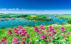 Lovely Salcombe estuary, Devon