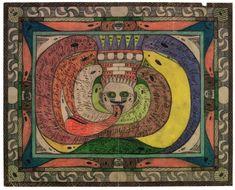 bread art (1916-1930), adolf wölfli - praha 2012