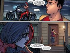 Billy Batson thinks Harley Quinn is a badass. 2