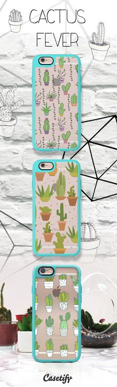Cactus Fever. Tap the link here to pre-order these  #NewStandard™ #phonecase // http://www.casetify.com/artworks/zzE6w9YT0k | @casetify
