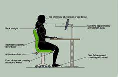 ergonomics for computer professionals