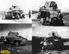 Pc-125.rendszámú Csaba páncélautó roncsa. Defence Force, Armored Vehicles, Apc, Hungary, World War, Wwii, Tanks, Sci Fi, History