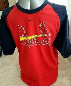 Nike t shirt stl cardinals mens med