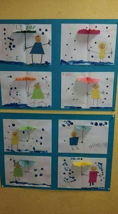 Most up-to-date Free of Charge preschool crafts weather Thoughts This web site features SO MANY Kids crafts which can be suitable for Toddler and also Tots. I believed it was time fra Water Theme Preschool, Preschool Weather, Preschool Crafts, Preschool Learning, Free Preschool, Kids Crafts, Projects For Kids, Diy For Kids, Spring Activities