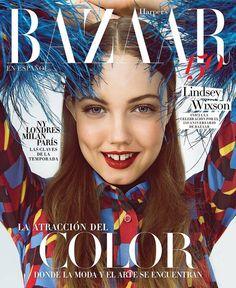Lindsey Wixson For Harpers Bazaar En Espanol February 2017