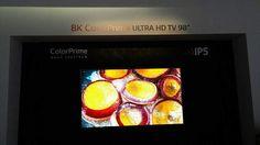 "98"" 8K Ultra HD TV"