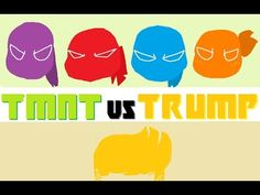 TMNT vs TRUMP [Parody]