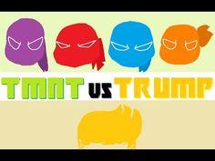 TMNT vs TRUMP [Parody]