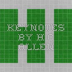 Keynotes by H.C. Allen